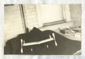 Photo of model #1 from Gilruth's Thesis