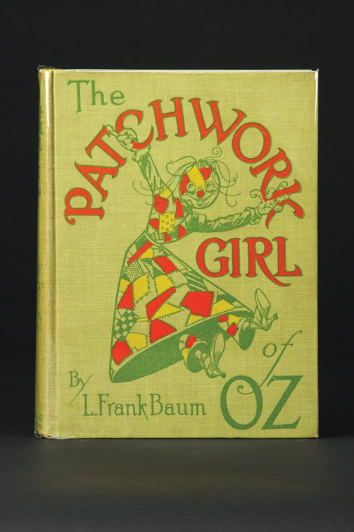 The patchwork girl of Oz  by L. Frank Baum; illustrated by John R. Neill (1913)