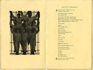"""Scottsboro,"" a poem by Langston Hughes from Scottsboro Limited."