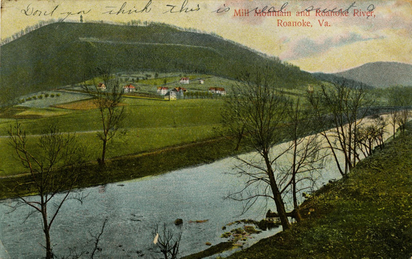 Mill Mountain and Roanoke River1