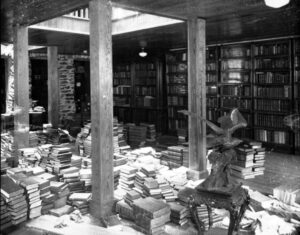 F. A. Sondley's personal library at home