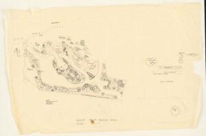 Preliminary sketch of planting plan