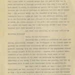 Image of page 2 of McBryde's 1904 letter to Carter Glass