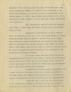 Image of page 5 of McBryde's letter to Glass