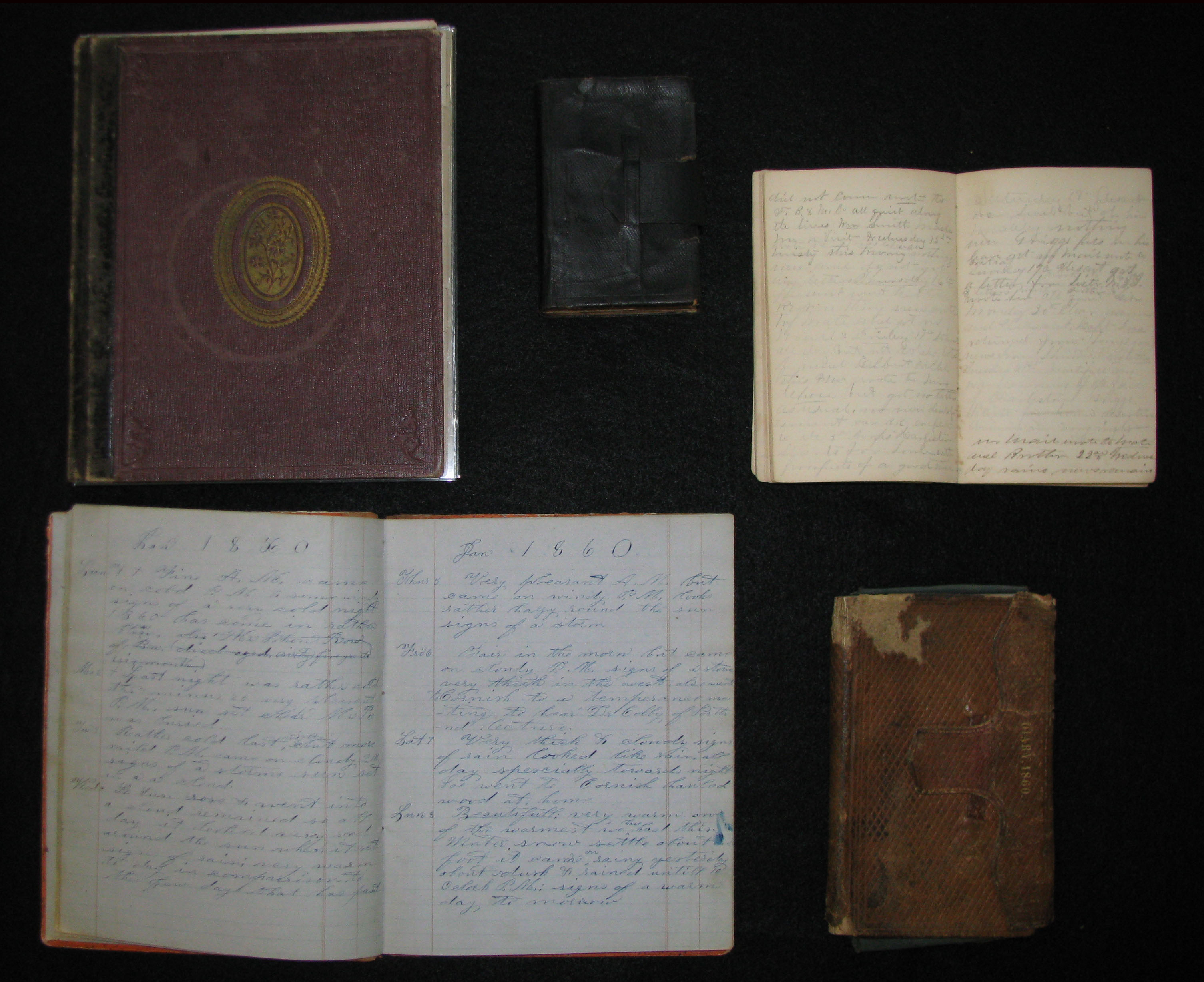 Selection of Civil War Diaries