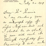 Ms1987-039, Victoria Cross Letter