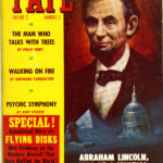 'Fate' magazine cover featuring the cover story 'Abraham Lincoln was he a mystic?' by G.H. Irwin