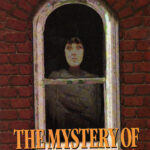 Book cover featuring a ghostly woman framed in an arched window.