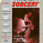 Cover art for pulp magazine 'Witchcraft & Sorcery.'