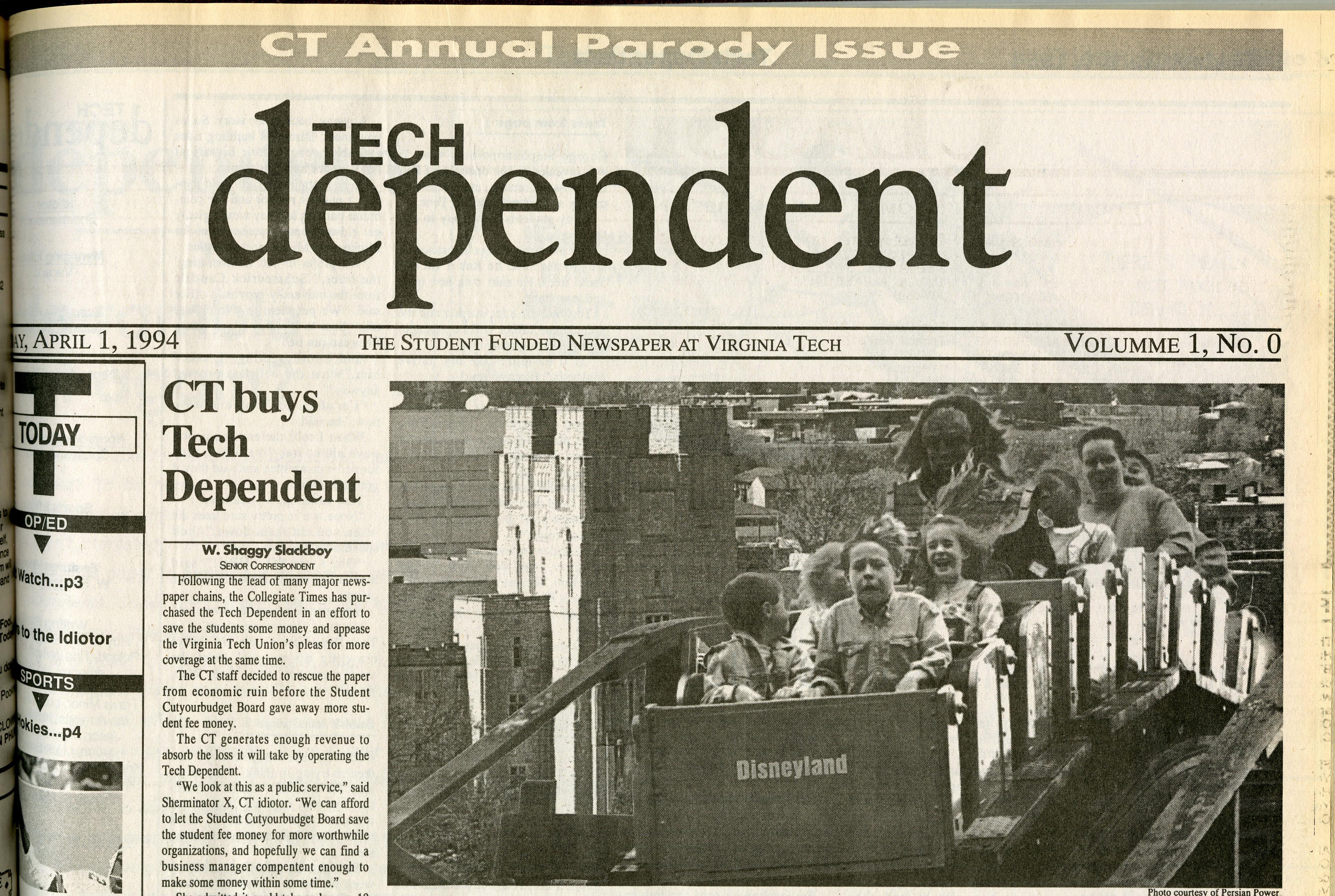 1 April 1994