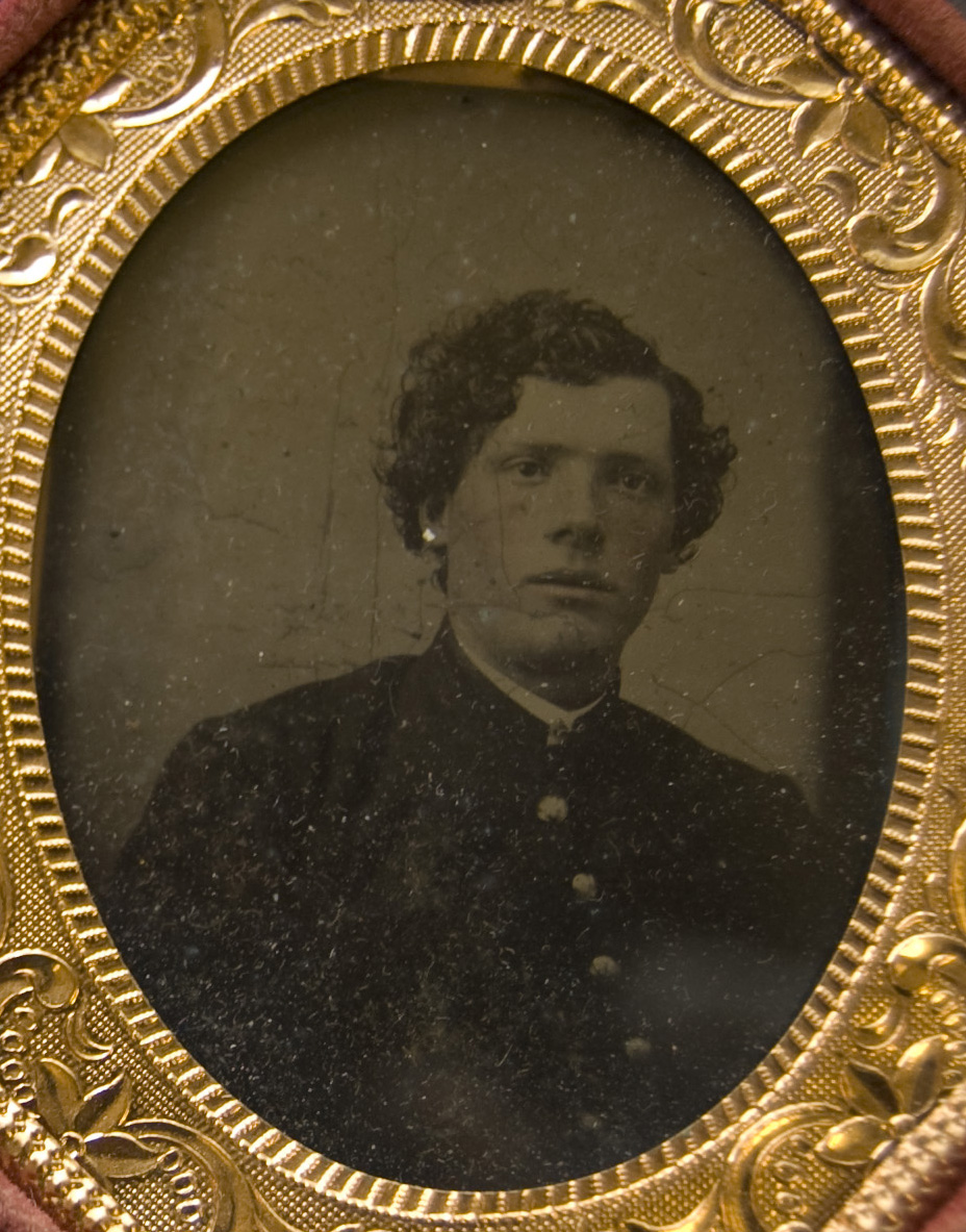 Presumed portrait of John Holliday, date unknown, from the John Holliday Diaries and Photographs Collection (Ms2012-028)