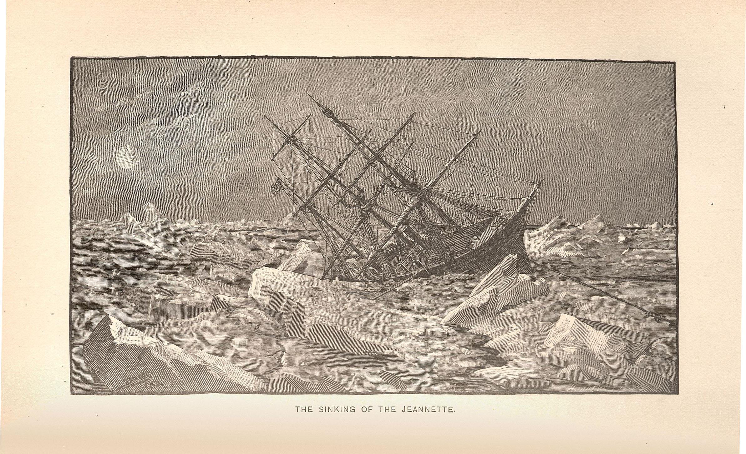 The Jennette sinks, 11 June 1881.