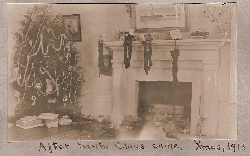 After Santa Came, 1913