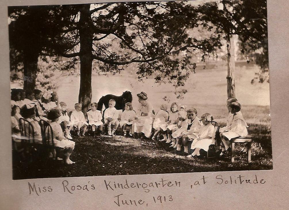 Miss Rosa Parrott's Kindergarten