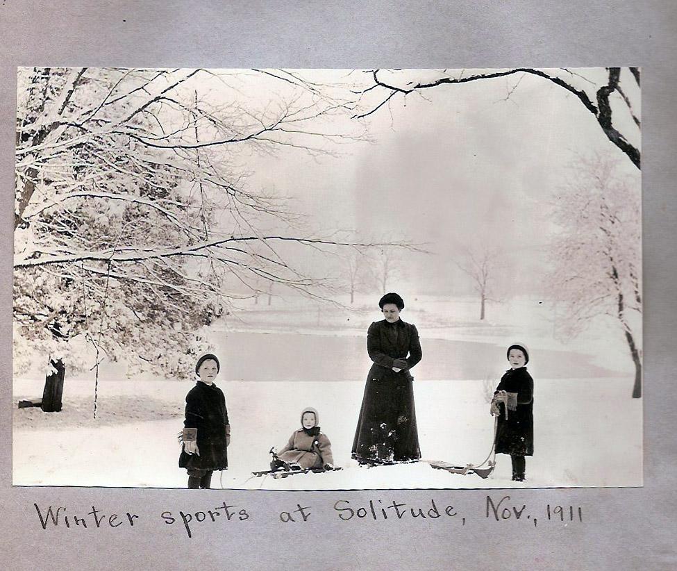 Winter Sports at Solitude, November 1913