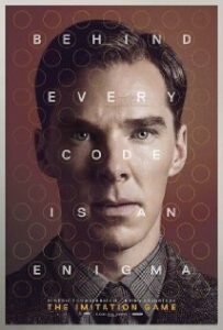 Poster for the 2014 movie, The Imitation Game, loosely based on Hodges' book