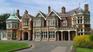 Mansion at Bletchley Park