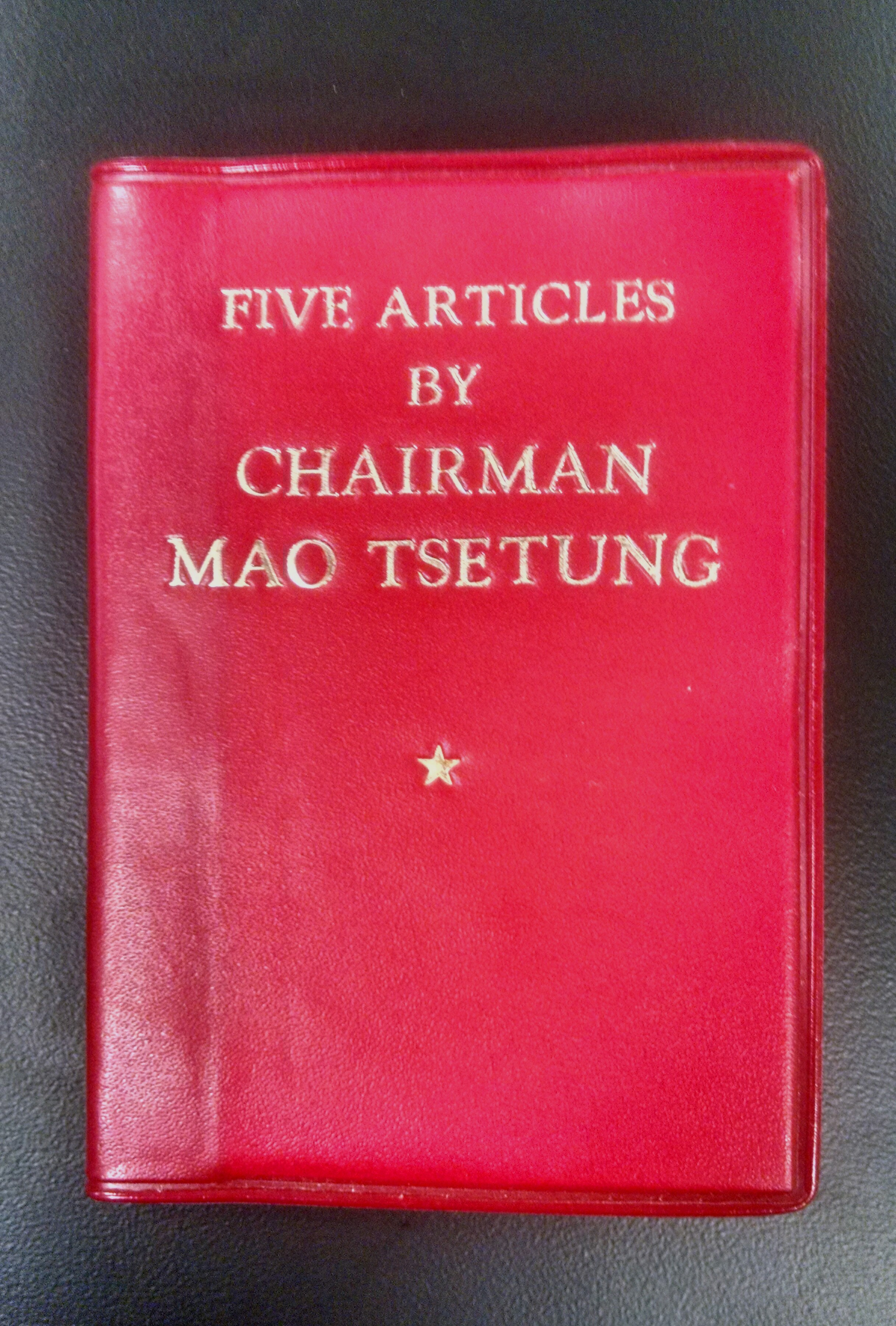 Five Articles by Chairman Mao