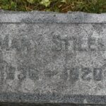 Mary S. Watkins, died Buffalo, Wyoming; 26 May 1920