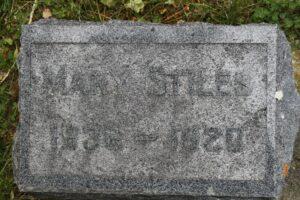 Mary S. Watkins, died Buffalo, Wyoming; 26 May 1920