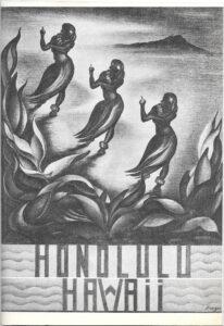 Cover of Frazer's Six Pencil Drawings of Honolulu, Hawaii, U.S.A.