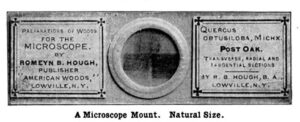 Slide for use with microscope