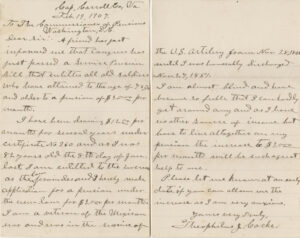 Theophilus Cocke Letter, 1907, Ms2008-057