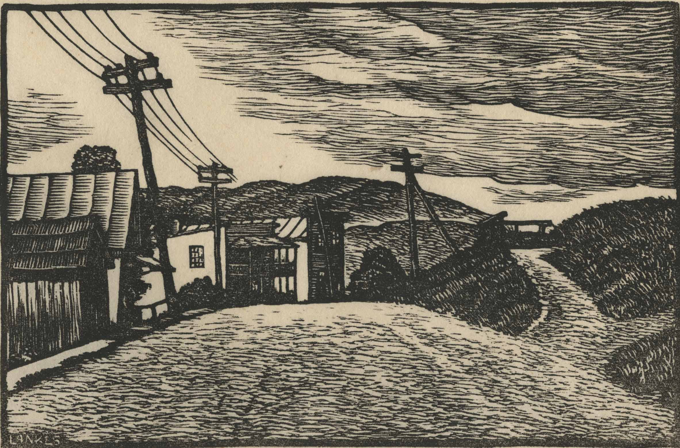 Woodcut by J.J.. Lankes