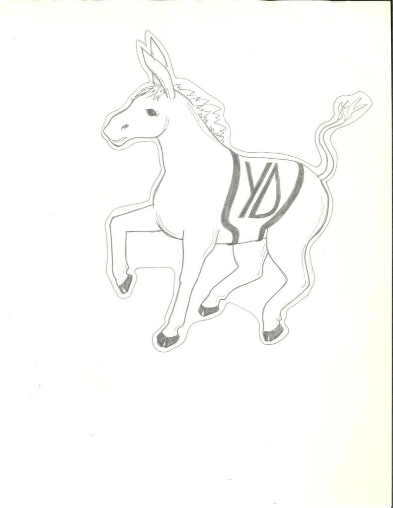Virginia Tech Young Democrats drawing