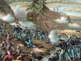 Battle of Chattanooga, (http://www.history.com/topics/american-civil-war/battle-of-chattanooga)