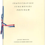 Program for Pres. Harry S Truman's 1949 presidential inauguration