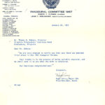 Highty-Tighties 1957 letter