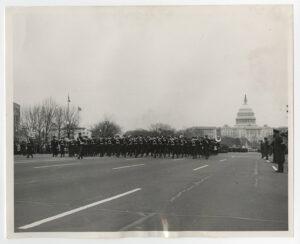 Highty-Tighties at Pres. Nixon's 1969 inauguration