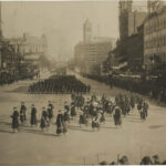 Highty-Tighties at Pres. Wilson's 1917 inauguration