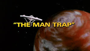 """Title Card for """"The Man Trap,"""" Star Trek Episode 6"""