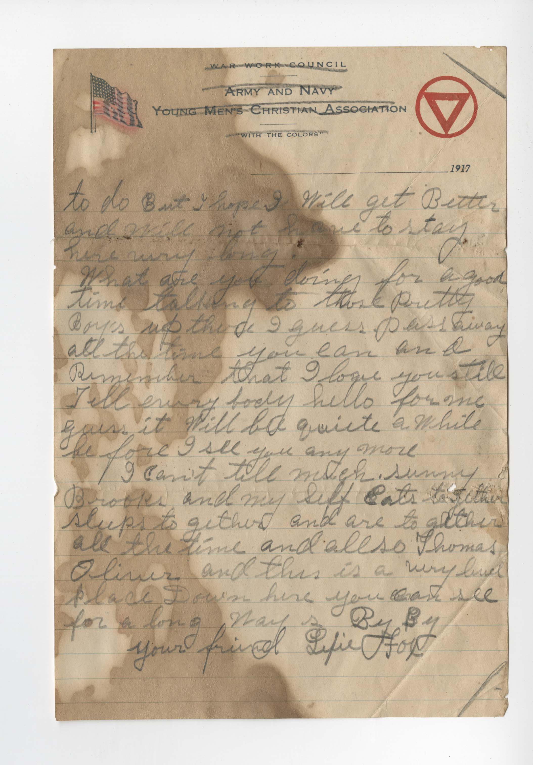 Ms2017-004_TurnerFamilyPapers_Letter_1917_0206c