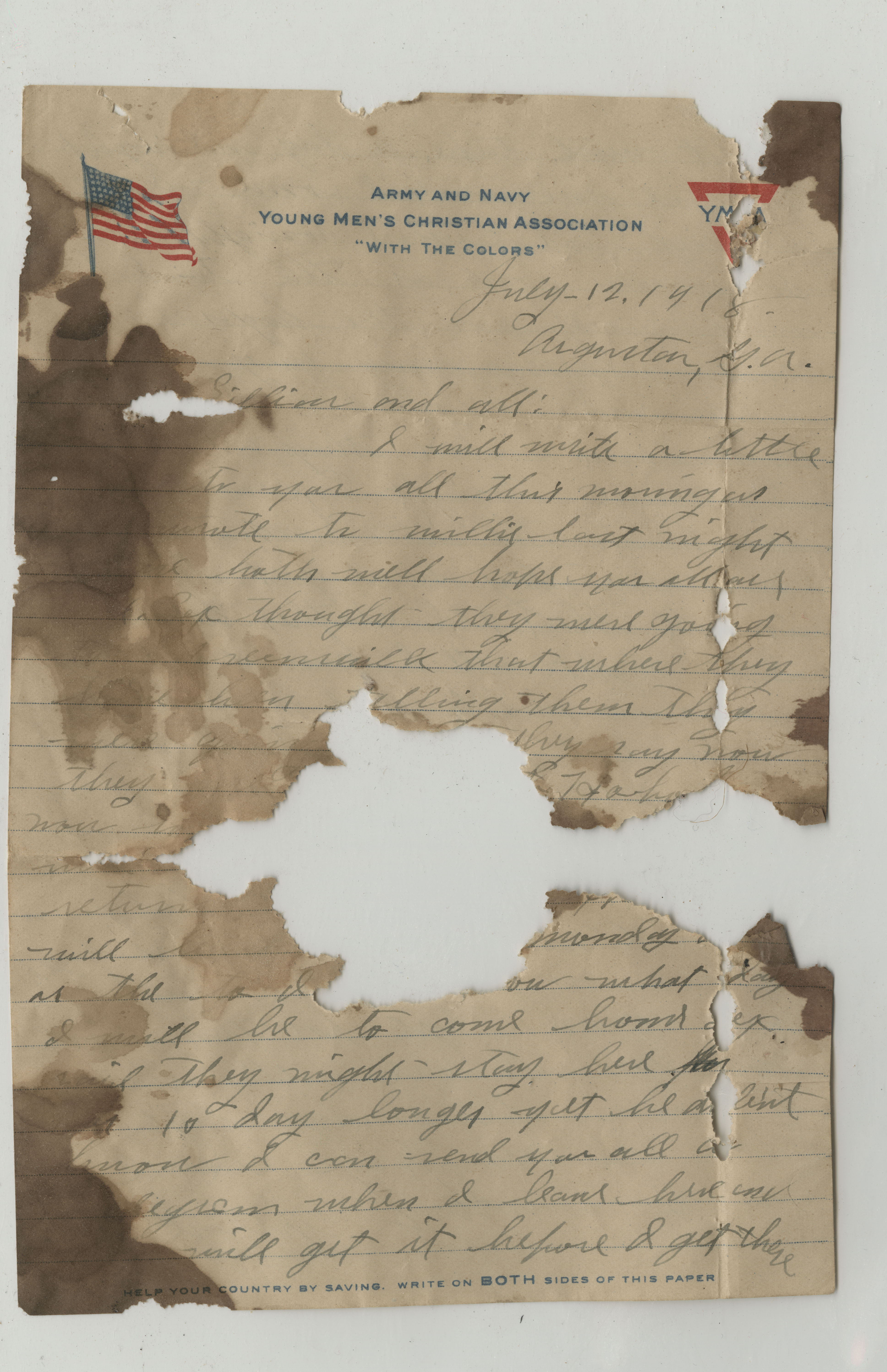 Ms2017-004_TurnerFamilyPapers_Letter_1918_0712a