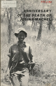 Anniversary of the Death of Josina Machel, undated [post-1971]