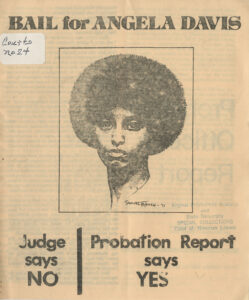Bail for Angela Davis, New York Committee to Free Angela Davis, c. 1971