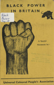 Black Power in Britain, Universal Coloured People's Association, undated