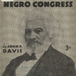 Let Us Build A National Negro Congress, John P. Davis, 1935