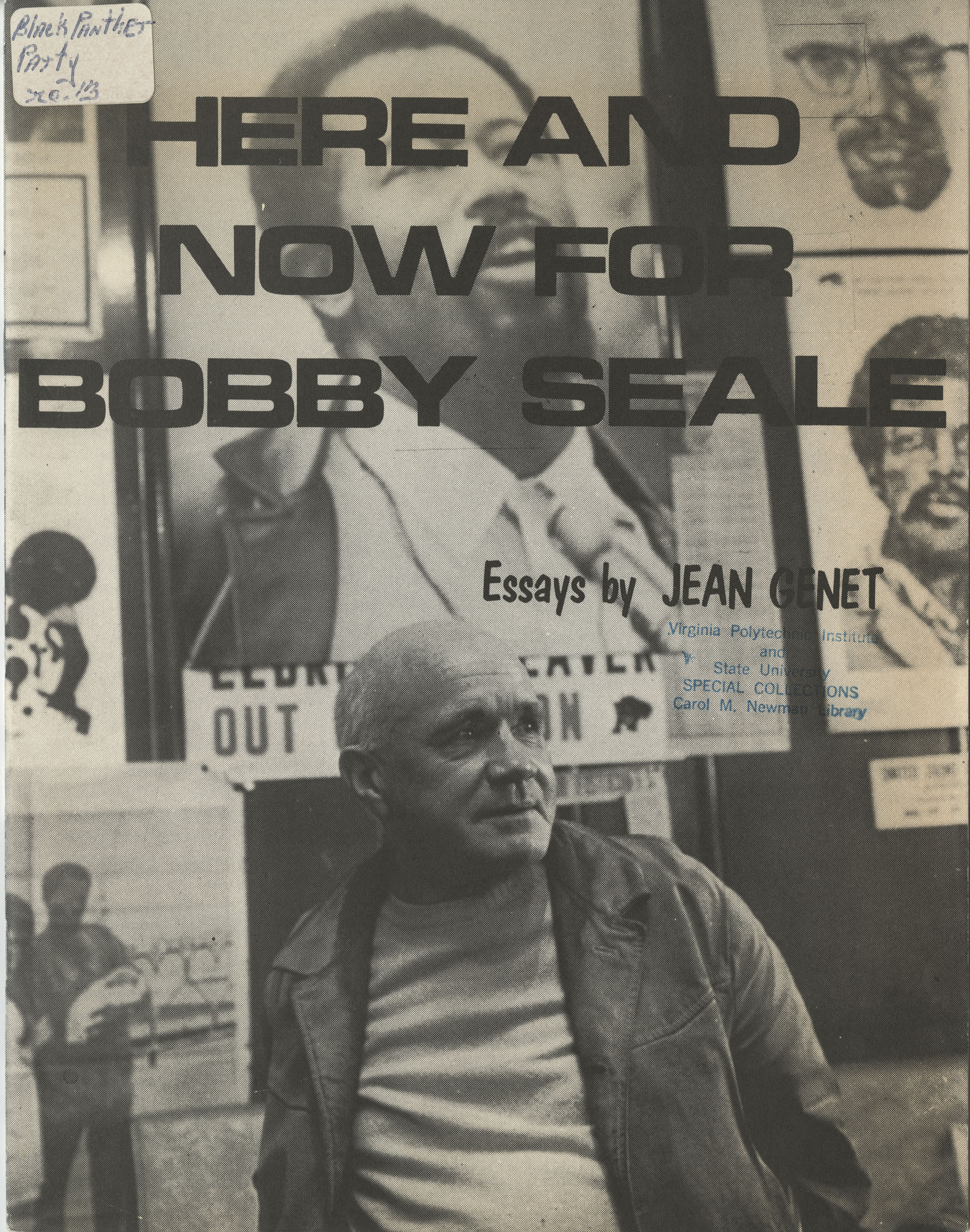 <i>Here and Now for Bobby Seale: Essays by Jean Genet<i>