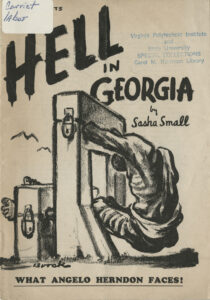 Hell in Georgia, What Angelo Herndon Faces, Sasha Small, 1935