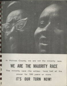 Holmes County, Mississippi: We Are the Majority Race, Holmes County Freedom Democratic Party, 1967