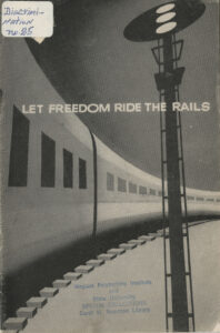 Let Freedom Ride the Rails, National Negro Labor Council, undated, c.1953