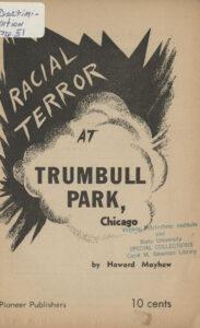 Racial Terror at Trumbull Park, Chicago, Howard Mayhew, 1954