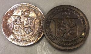 VPI seal embossing plates