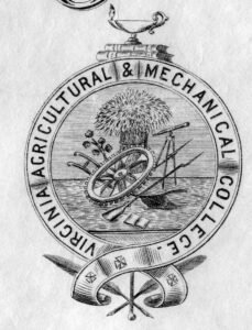 Virginia Agricultural and Mechanical College seal