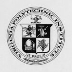 VPI seal, depicting cowboy and American Indian