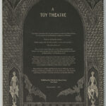 Dracula: A Toy Theatre by Edward Gorey (1979), back cover